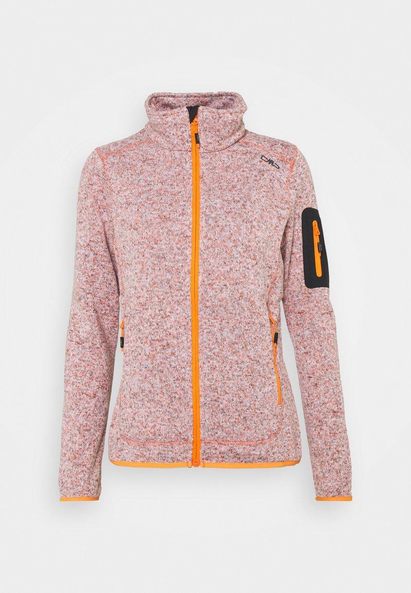 CMP - WOMAN JACKET - Fleece jacket - orange