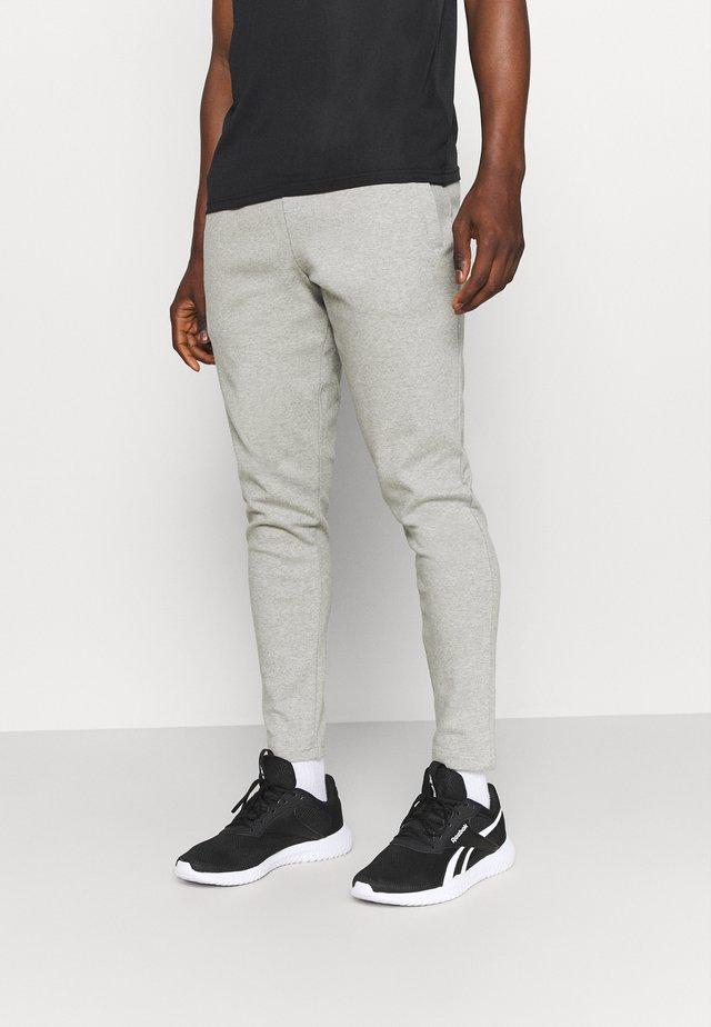 MOREL PANTS - Tracksuit bottoms - mid grey melange