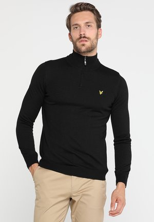 GOLF QUARTER ZIP - Trui - true black