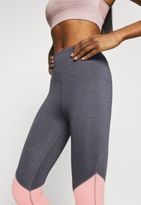 Even&Odd active - Leggings - grey/pink_rose - 4