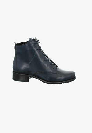 CARLA - Lace-up ankle boots - dunkelblau
