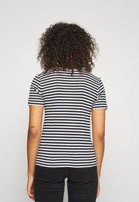 Even&Odd Tall - Print T-shirt - black/white - 2