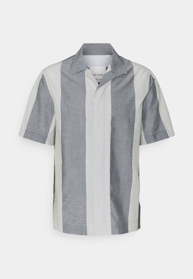 GENTS TAILORED - Chemise - white/grey
