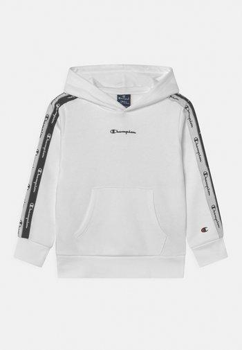 AMERICAN TAPE HOODED UNISEX - Sweatshirt - white