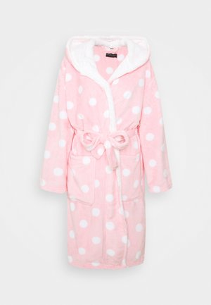 PINK SPOT ROBE - Dressing gown - pink