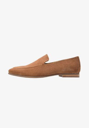 Business loafers - cognac