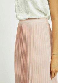 Vila - A-line skirt - pale mauve - 3