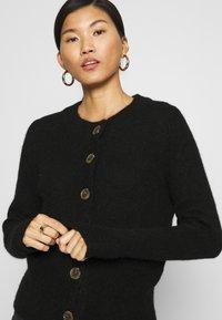 Selected Femme - SLFSIA CARDIGAN - Cardigan - black - 4