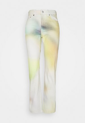 VOYAGE BLURRED PRINT - Relaxed fit jeans - multicoloured
