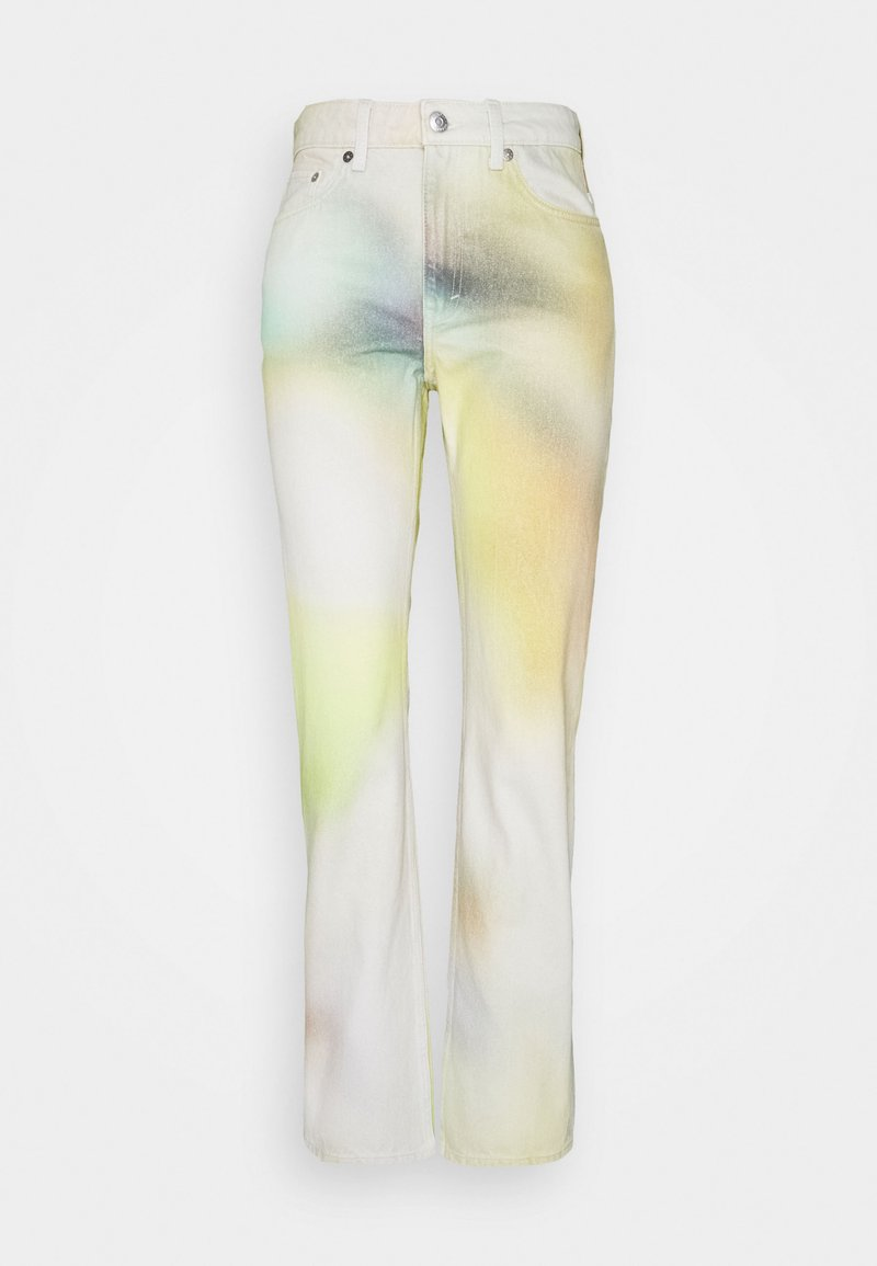 Weekday - VOYAGE BLURRED PRINT - Relaxed fit jeans - multicoloured