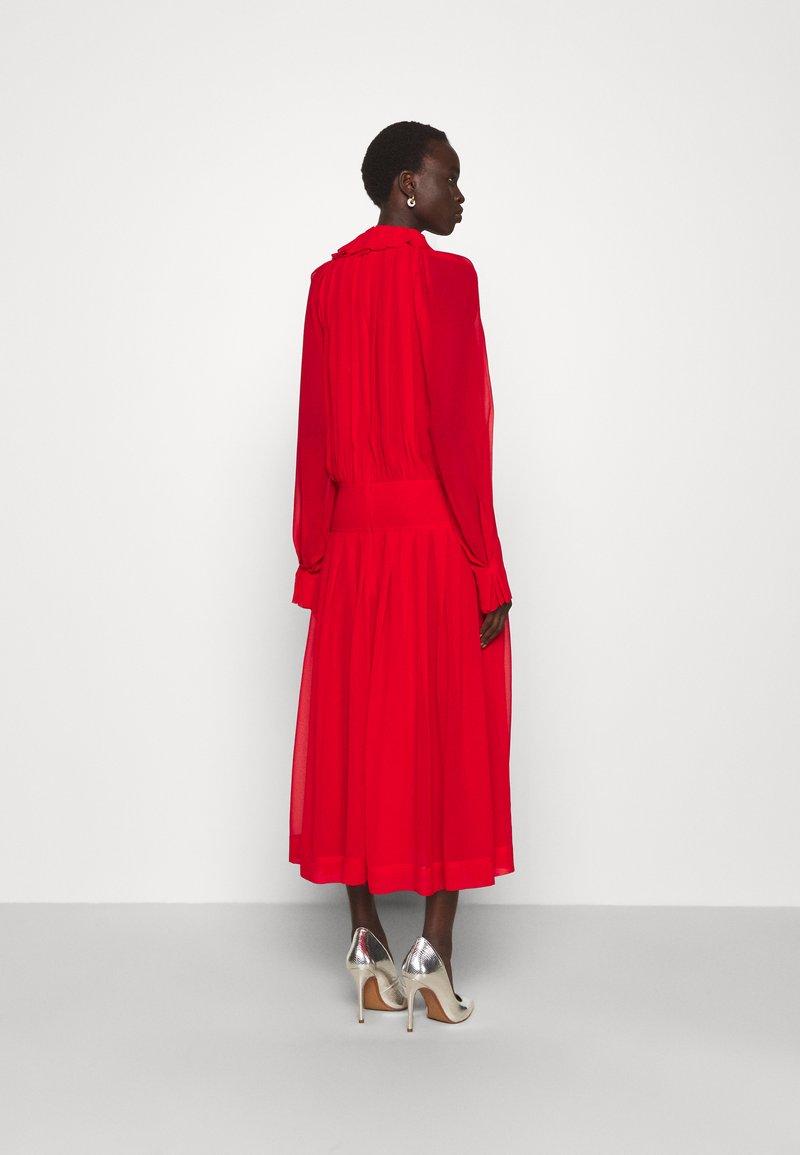 Victoria Beckham - DRAPED GATHERED DRESS - Vestito elegante - red