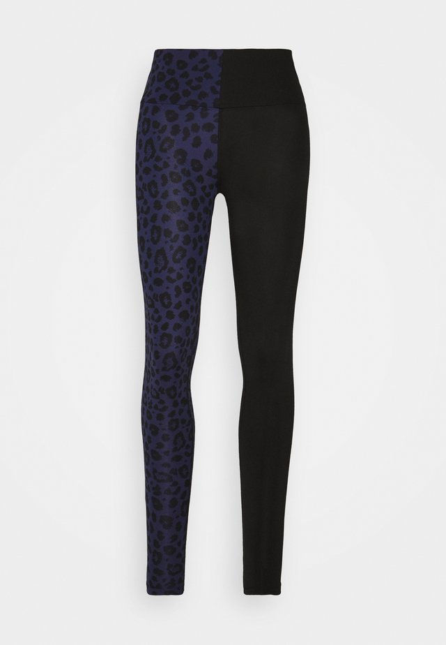 LEGGINGS TWISTED LEO  - Trikoot - blue