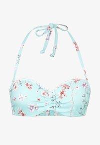 Sunseeker - WIRE BANDEAU - Bikini top - turquoise - 4