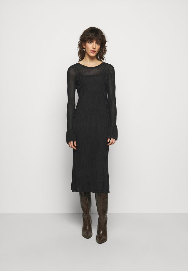 OPHELIAS - Jumper dress - black
