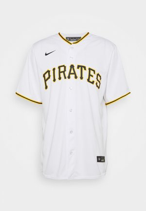 MLB PHITTSBURG PIRATS OFFICIAL REPLICA HOME - Print T-shirt - white/scarlet