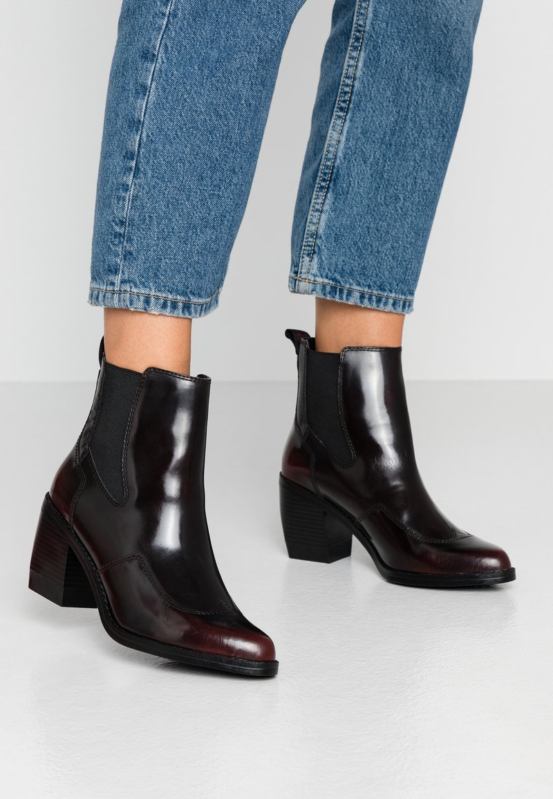G-Star - TACOMA - Ankle boots - dark bordeaux