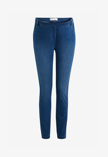 MATERNITY JERSEY DENIM - Legging - blue