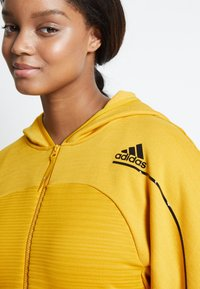 adidas Performance - Sports jacket - yellow - 6
