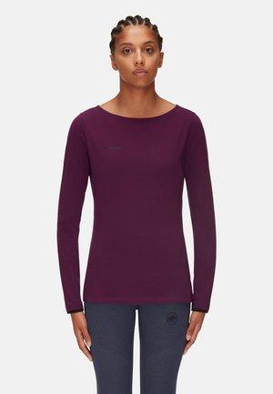 CAMIE - Long sleeved top - grape
