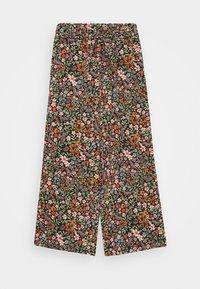 Name it - NKFVINAYA WIDE PANT - Trousers - vibrant orange - 0