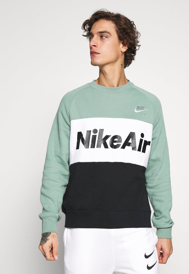 Nike Sportswear - AIR - Mikina - silver pine/black/white