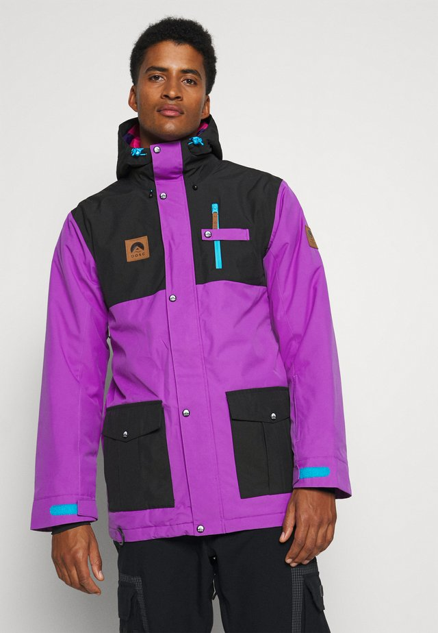YEH MAN JACKET  - Laskettelutakki - purple/black