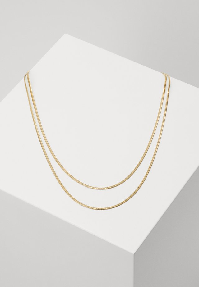 SILK - Necklace - gold-coloured