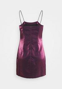 Glamorous Petite - LADIES DRESS - Cocktail dress / Party dress - pink metallic - 1