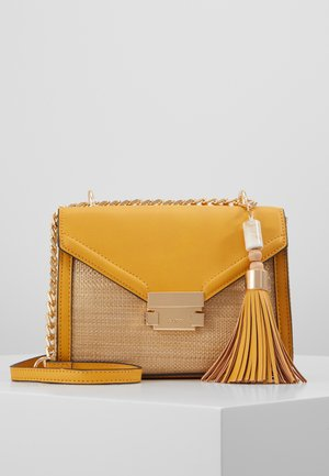 SAKIS - Handbag - dark yellow