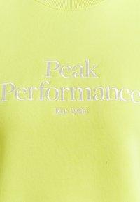 Peak Performance - ORIGINAL CREW - Sweatshirt - citrine - 2