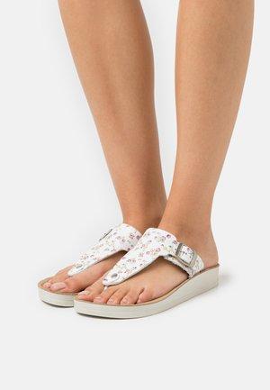 ODALISKA - T-bar sandals - blanc