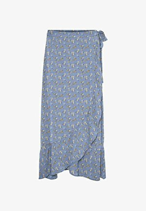A-line skirt - placid blue
