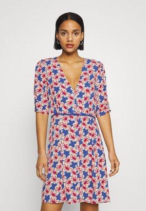 VIJEANIE SHORT DRESS - Freizeitkleid - mazarine blue
