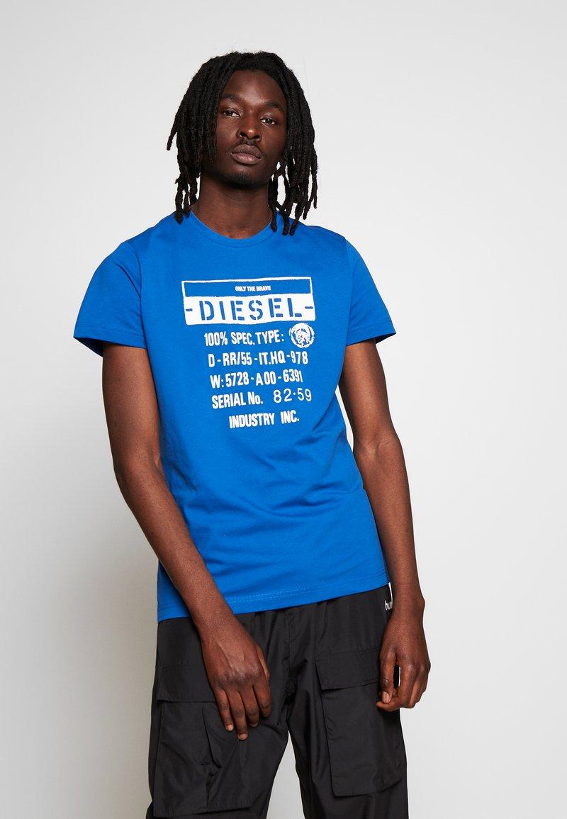 Diesel - T-DIEGO-S1 T-SHIRT - T-shirt con stampa - blue