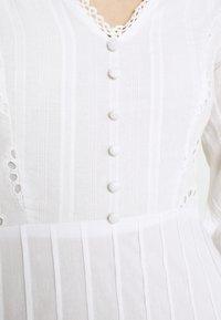 Lace & Beads - ELIZA DRESS - Košilové šaty - white - 6