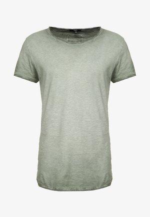 VITO SLUB - Print T-shirt - military green