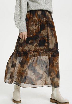 Maksihame - chocolate brown shadow sky