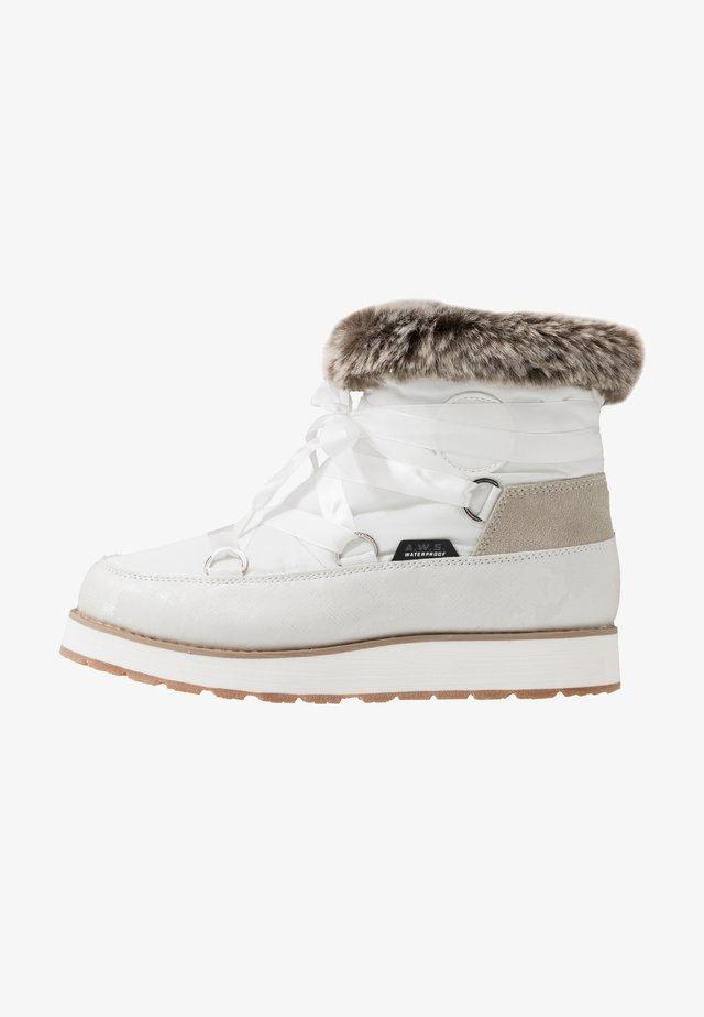 TOMERA  - Stivali da neve  - optic white