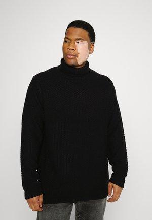 ONSLOCCER HIGH NECK - Jumper - black