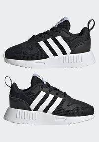 adidas Originals - MULTIX UNISEX - Baby shoes - core black/ftwr white/core black - 5