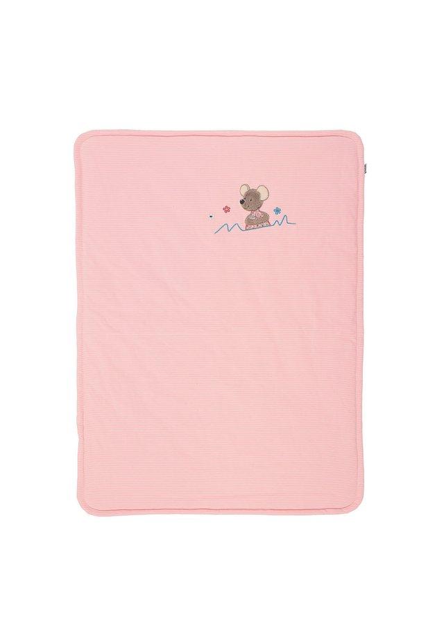 SCHMUSEDECKE  MABEL - Play mat - light pink