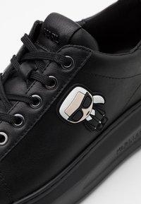 KARL LAGERFELD - KAPRI IKONIC LACE - Sneaker low - black - 4