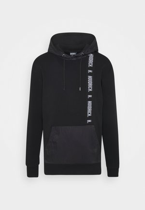 OG TAPE - Bluza z kapturem - black