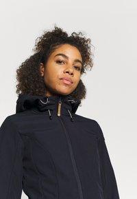 Icepeak - VIAMAO - Soft shell jacket - dark blue/black melange - 3