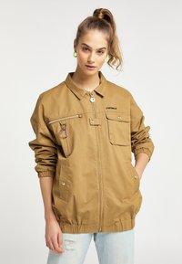 myMo - Summer jacket - dark sand - 0