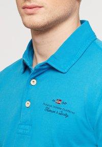 Napapijri - ELBAS - Polo shirt - turquoise - 3