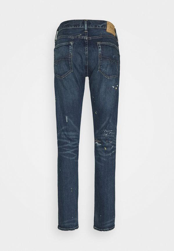 Polo Ralph Lauren SULLIVAN - Jeansy Slim Fit - petley stretch/niebieski denim Odzież Męska NXGV