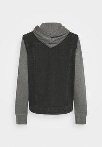 Only & Sons - ONSCOIN HOOD TRUCKER - Denim jacket - black denim - 7