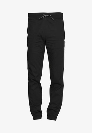ELASTIC CUFF PANTS - Teplákové kalhoty - black