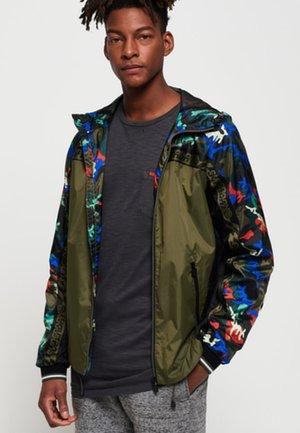 ANORAK - Waterproof jacket - khaki
